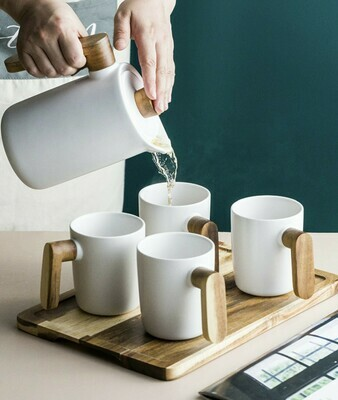 北歐陶瓷茶具套裝 | Nordic Ceramic Teapot Set
