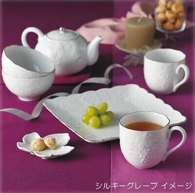 日本桂由美浮雕美濃燒陶瓷葡萄刻花茶具套裝 | 桂由美シルキーグレープティーセット