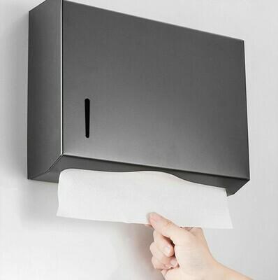 掛牆式不銹鋼紙巾盒 | Wall Mounted Stainless Steel Tissue Dispenser
