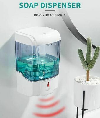 掛牆式智能洗手器 | Wall-mounted Automatic Soap Dispenser