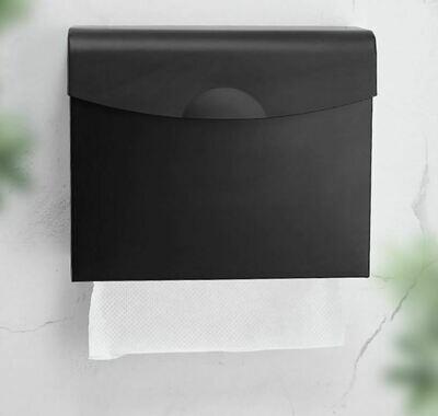 掛牆式抺手紙巾鋁盒 | Wall-mounted towel paper aluminum box