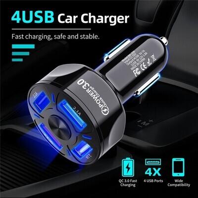 四口智能車充 | 4 Ports USB Car Charge