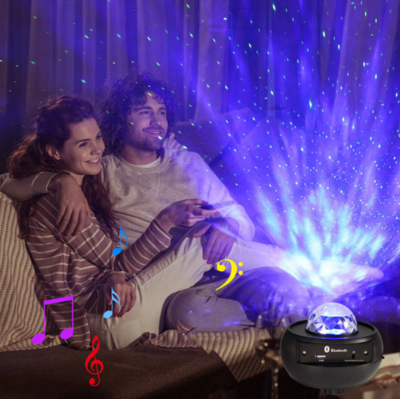 星空投影燈 | Starry Sky Galaxy Projector Light