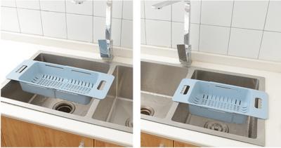 可伸縮瀝水籃(2個入)丨Retractable drain basket