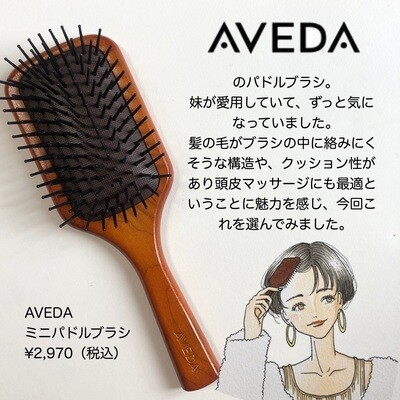 AVEDA Paddle Brush | AVEDAパドル ブラシ (海外版)