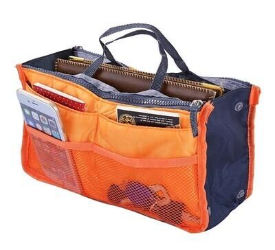 雙拉鏈袋中袋 | Insert Organizer Beauty Bag