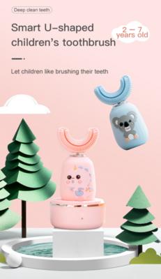 兒童U型聲波震動牙刷 丨 Smart U-Shaped Children's Toothbrush