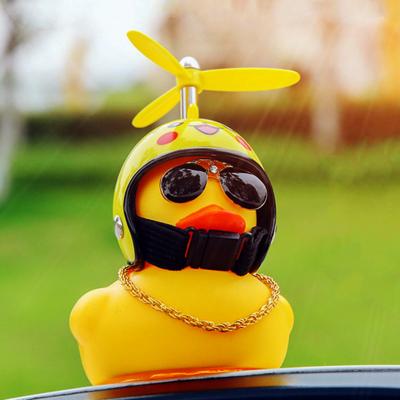 Cute Helmet Duck