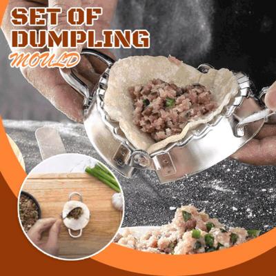 不銹鋼包餃子套裝   Stainless Steel Dumpling Maker