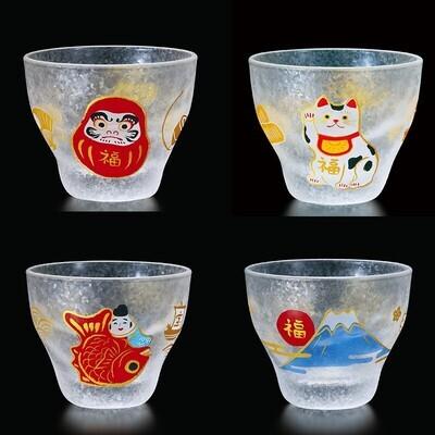 mono幸運清酒杯(4個入)   めでたmono盃