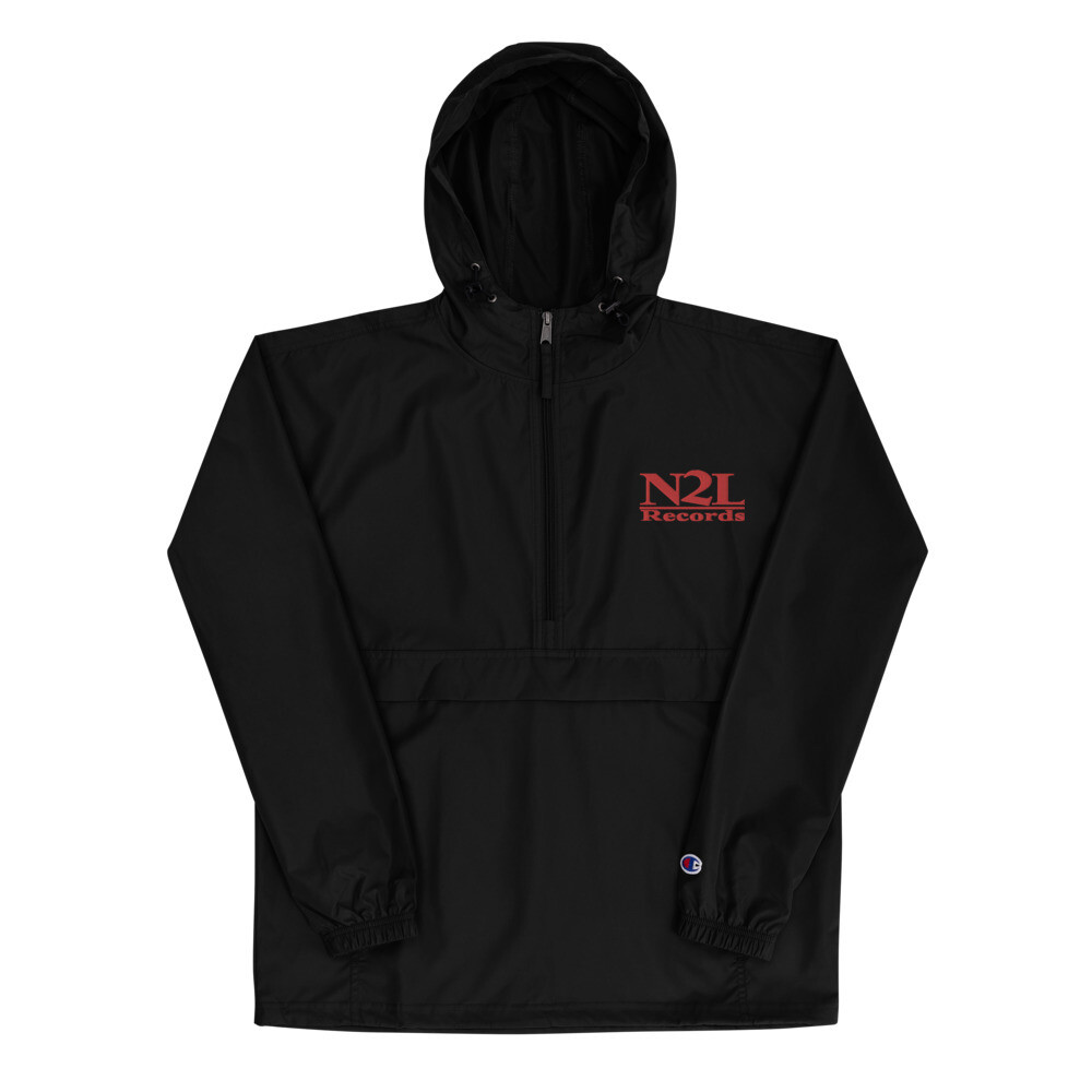 N2L RECORDS Embroidered Champion Packable Jacket (UNISEX)