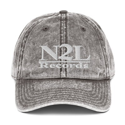 N2L RECORDS Vintage Cotton Dad Cap
