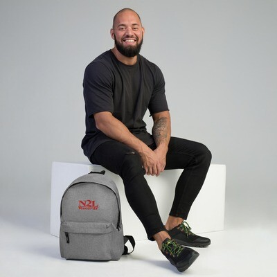 N2L RECORDS  Embroidered Backpack