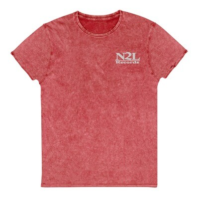 N2L RECORDS Denim T-Shirt (Unisex)