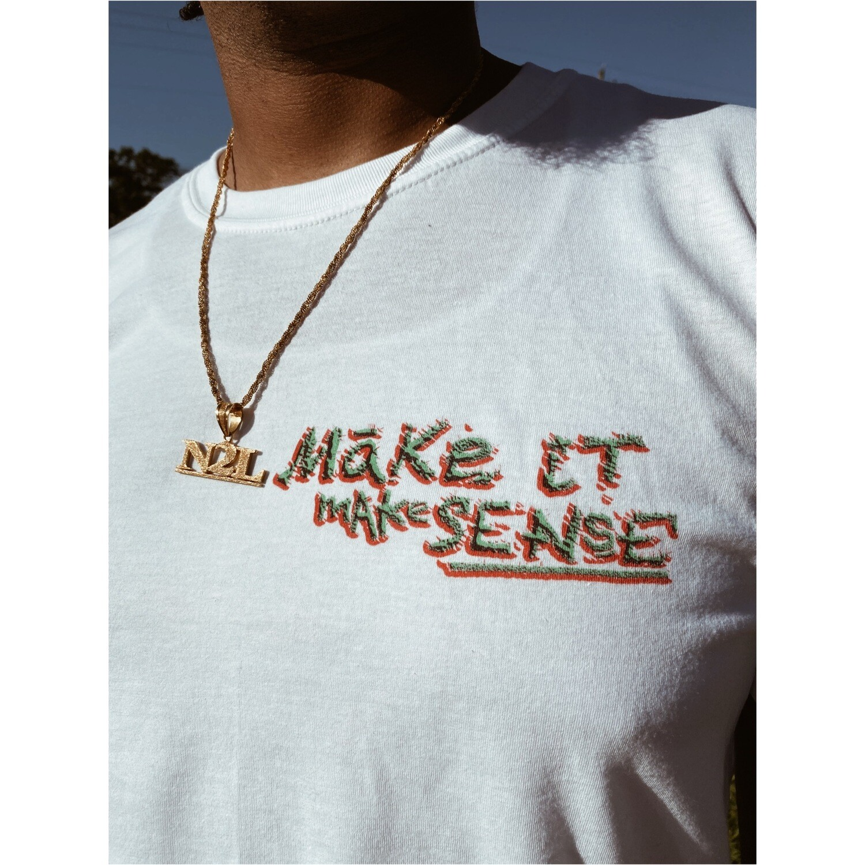 MAKE SENSE Short-Sleeve Unisex T-Shirt