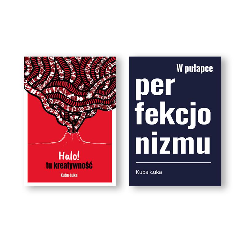 """Książka: Halo! tu kreatywność + E-book """"W pułapce perfekcjonizmu"""" (Zapowiedź nowej książki). EDYCJA LIMITOWANA"""
