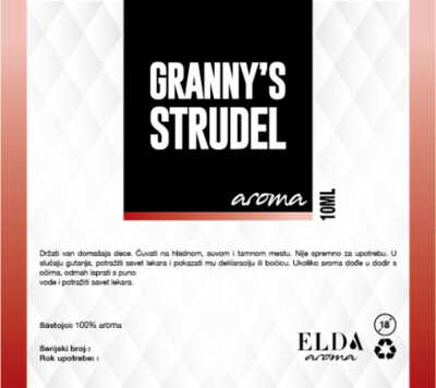 Granny's strudel