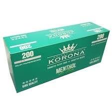 Korona filteri menthol 200