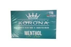 Korona Slim menthol 110