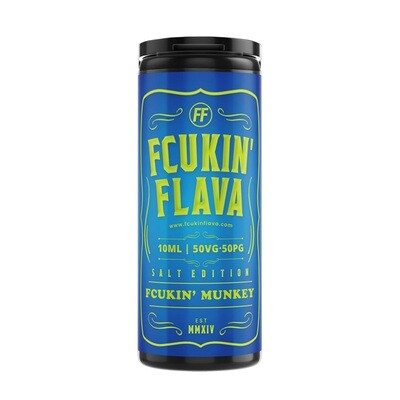 Fcukin'  Munkey Nic Salt 10ml
