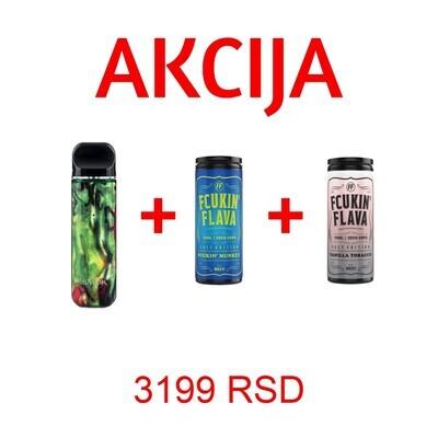 SMOK NOVO 2 + FCUKIN FLAVA