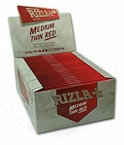 Rizla + King size medium thin red