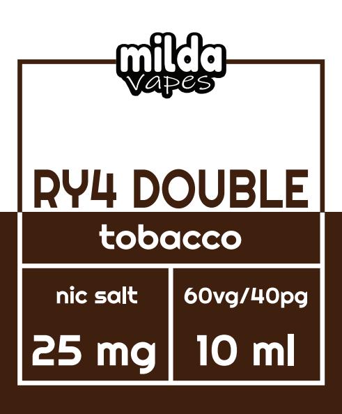 Milda Salt - RY4 double