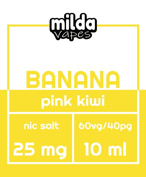 Milda Salt - Banana Pink Kiwi