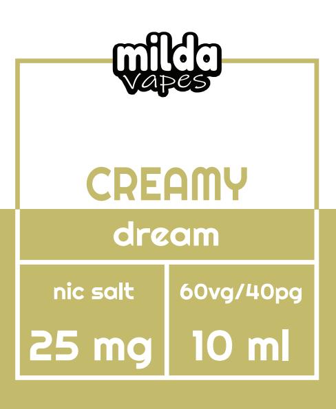 Milda Salt - Creamy dream