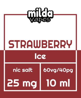 Milda Salt - Strawberry ice