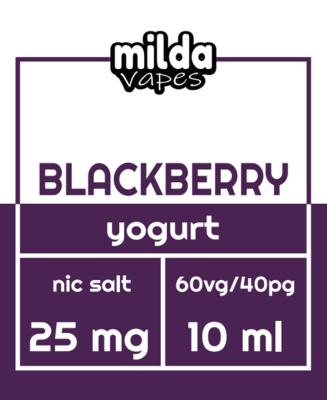 Milda Salt - Blackberry Yogurt