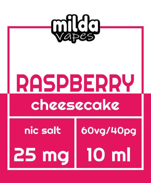 Milda Salt - Raspberry Cheesecake