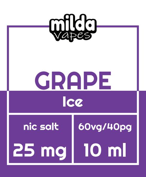 Milda Salt - Grape Ice