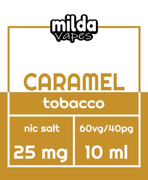 Milda Salt - Caramel tobacco