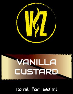 V&Z - VANILLA CUSTARD 10/60