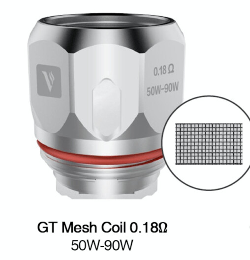 GT Meshed coil 0.18Ω (1kom.)