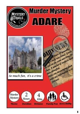 Adare- Murder Mystery- Limerick