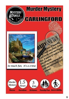 Carlingford- Murder Mystery - Louth