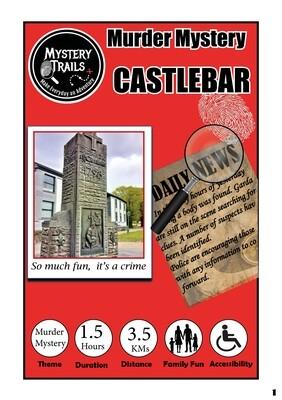 Castlebar- Murder Mystery- Mayo