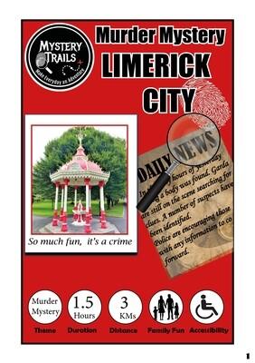 Limerick City- Murder Mystery- Limerick