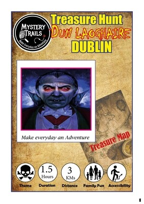 Dun Laoghaire-  Spooky Edition Treasure Hunt - Dublin