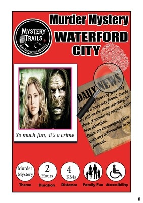 Waterford City- Spooky Edition Murder Mystery - Waterford