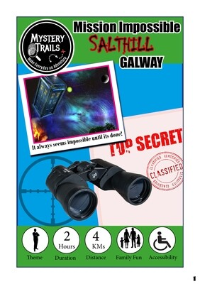 Salthill- Spooky Edition Mission Impossible- Galway