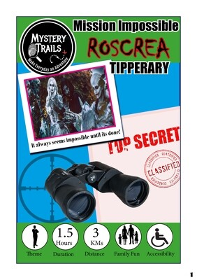 Roscrea- Spooky Mission Impossible - Tipperary