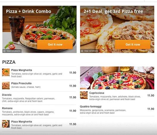 Advanced Promo Marketing - Food Ordering System