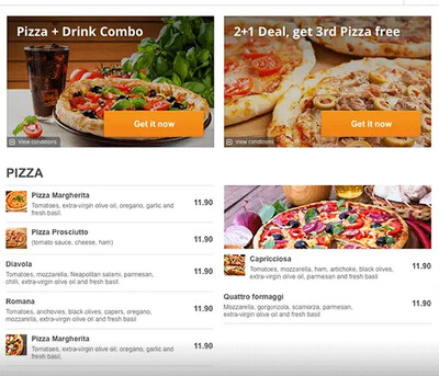 Advanced Promo Marketing - Food Ordering System