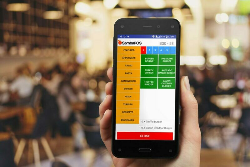 SambaPOS Mobile Client