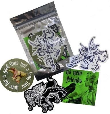 Creatures Sticker Pack
