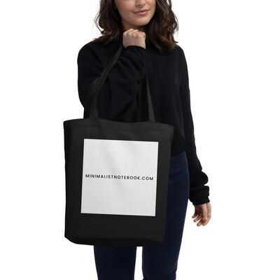 minimalistnotebook.com organic tote bag