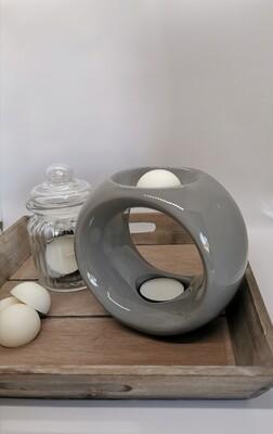 Oslo Grey Wax Burner Set